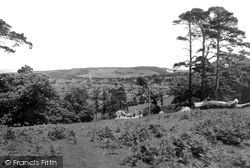 Dorking, From The Nower 1936