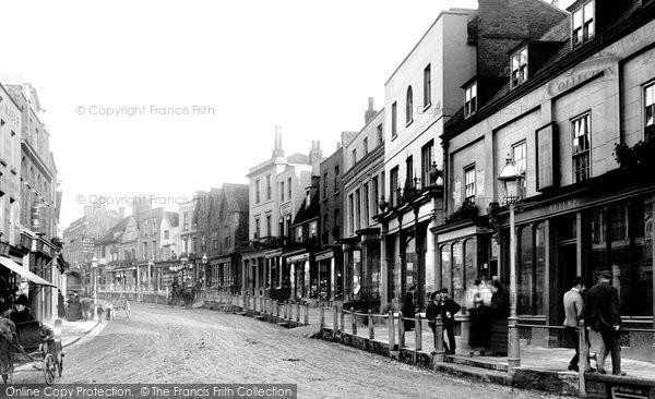Photo of Dorking, High Street 1888