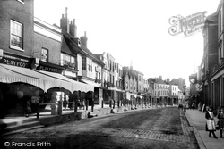 Dorking, High Street 1890