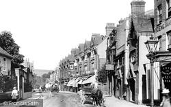 Dorking, High Street 1900