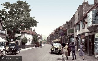 Dorking, High Street 1927