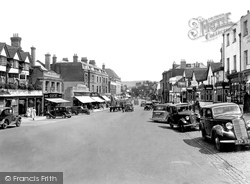 Dorking, High Street 1937