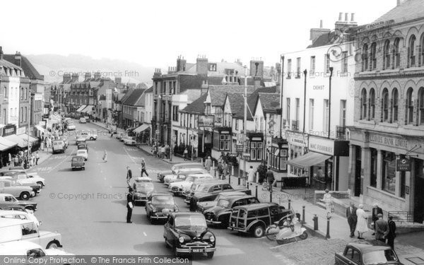 Dorking, High Street c.1965