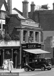 Dorking, Quicks, High Street 1937
