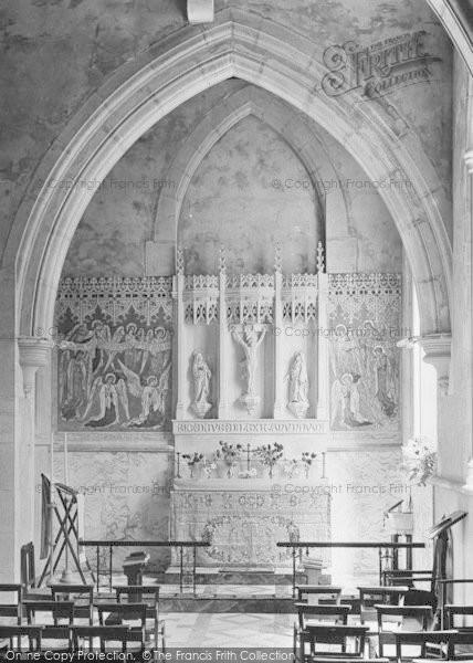Dorking St Martin S Church Interior 1913 Francis Frith