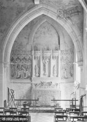 Dorking, St Martin's Church Interior 1913
