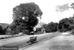 Dorking, The Cemetery, Reigate Road 1906