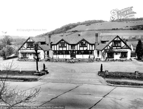 Dorking, the Watermill Restaurant c1965