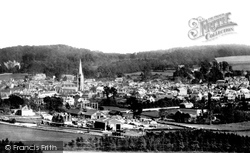 Dorking, View From Ranmore 1888
