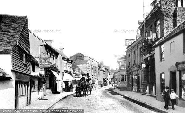 Photo of Dorking, West Street 1903