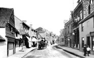 Dorking, West Street 1903