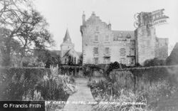 Dornoch, Cathedral And Dornoch Castle Hotel c.1947