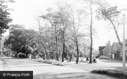 Avenue And Temple Road c.1960, Dorridge