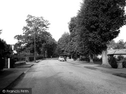 Dorridge Road c.1960, Dorridge