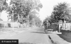 Knowle Wood Road c.1960, Dorridge