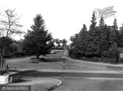 Dorridge, Manor Road c.1960