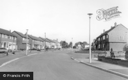 Poplar Road c.1960, Dorridge