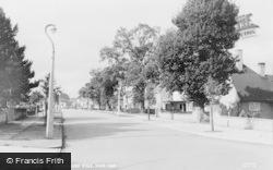 Dorridge, Rodborough Road c.1960