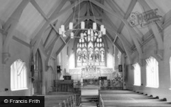 St Philip's Church, Interior c.1965, Dorridge