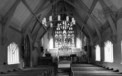 Dorridge, St Philip's Church, Interior c.1965