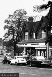 Dorridge, The Post Office 1967