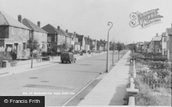 Woodchester Road c.1960, Dorridge