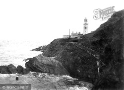 Bathing Cove And Lighthouse 1894, Douglas