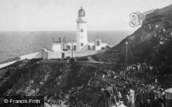 Port Skillion, The Lighthouse 1895, Douglas