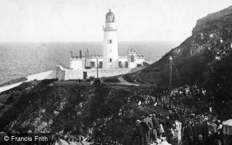 Douglas, Port Skillion, the Lighthouse 1895