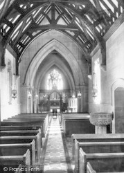 Church Interior 1899, Doulting