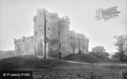 Doune, Castle From North East 1899