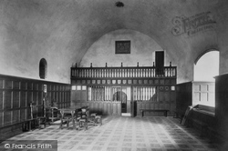 Doune, Castle, Lord's Hall 1899