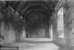 Doune, Castle, Retainers' Hall 1899