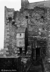 Doune, Castle, Sanitation Flues 1951