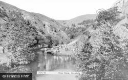Dovedale, River Dove c.1965