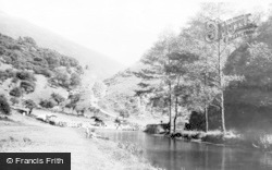 Stepping Stones c.1955, Dovedale