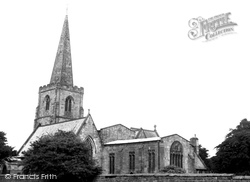 Dovedale, The Church c.1960