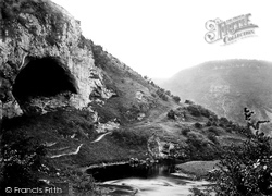 The Dove Holes c.1864, Dovedale