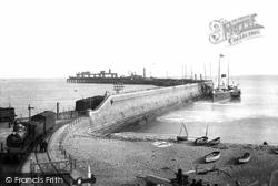 Dover, Admiralty Pier 1901