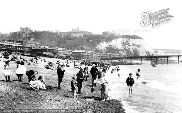 Photo of Dover, Beach 1908