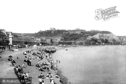 Dover, Beach And Castle 1908