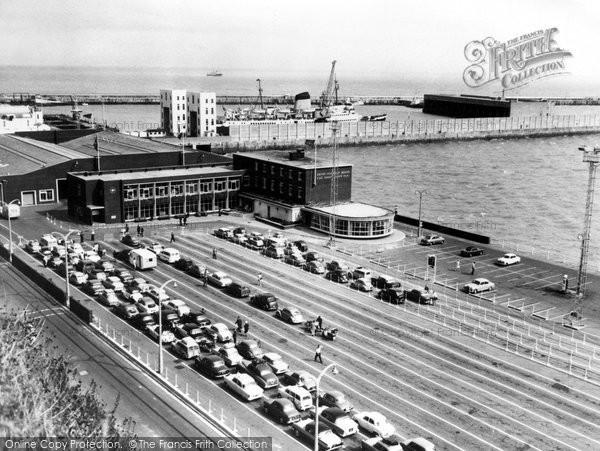 Photo of Dover, Car Ferry Terminal c.1960