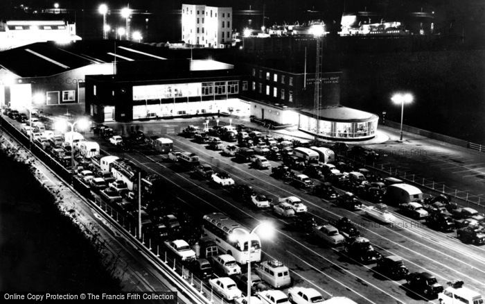 Photo of Dover, Car Ferry Terminal c.1965