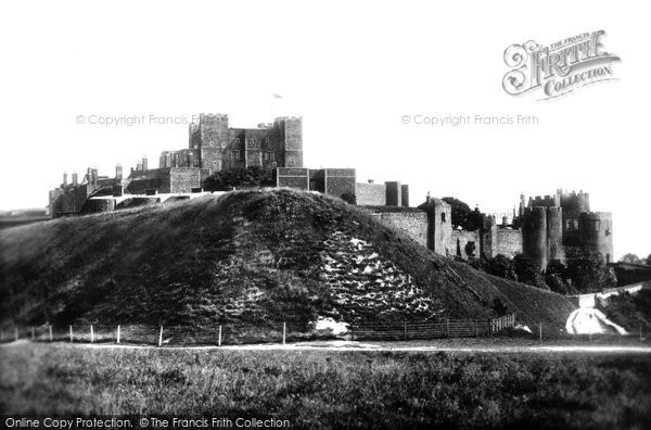 Photo of Dover, Castle 1890