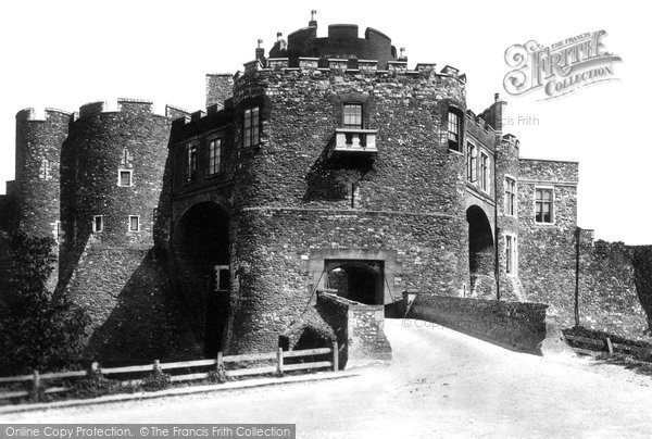 Photo of Dover, Castle, Constables Tower And Gate 1890