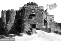 Dover, Castle, Constables Tower And Gate 1890