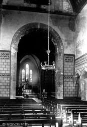 Dover, Castle, Fort Church Interior 1892