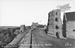 Dover, Castle, The Roman Pharos c.1965