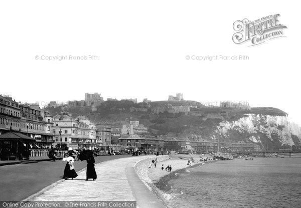 Photo of Dover, Esplanade 1899