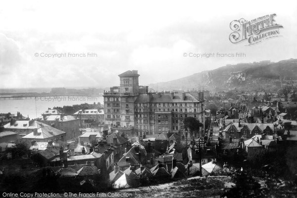 Photo of Dover, From Belle Vue Tea Gardens 1901